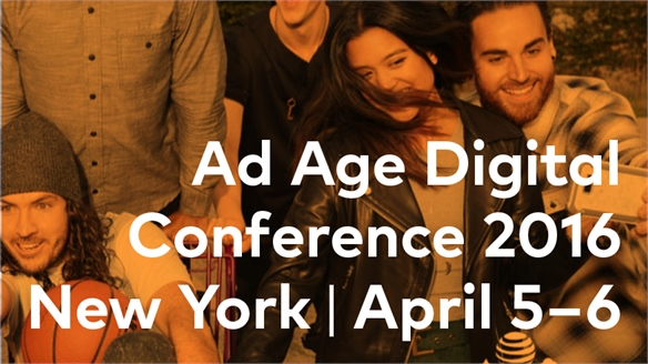 Ad Age Digital Conference 2016