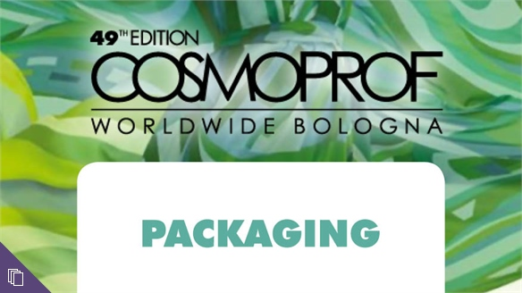 Cosmoprof Worldwide 2016: Packaging