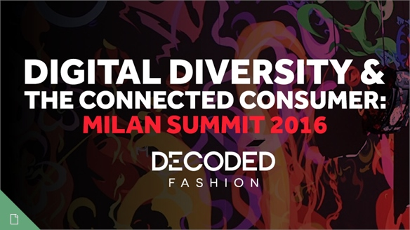 Decoded Fashion Milan Summit, 2016