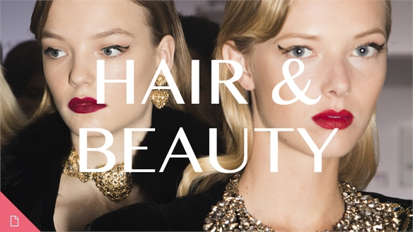 Couture A/W 16/17: Hair & Beauty