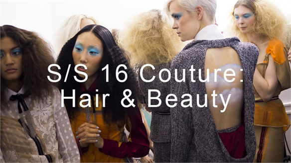S/S 16 Couture: Hair & Beauty