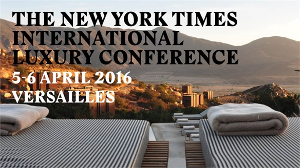 NYT International Luxury Conference 2016