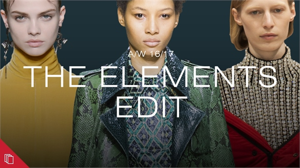 A/W 16/17: The Elements Edit