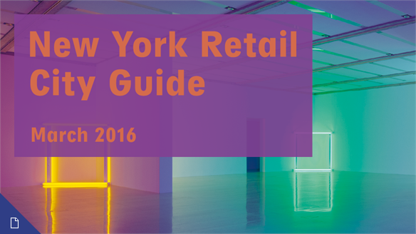 Retail City Guide: NYC, March 2016