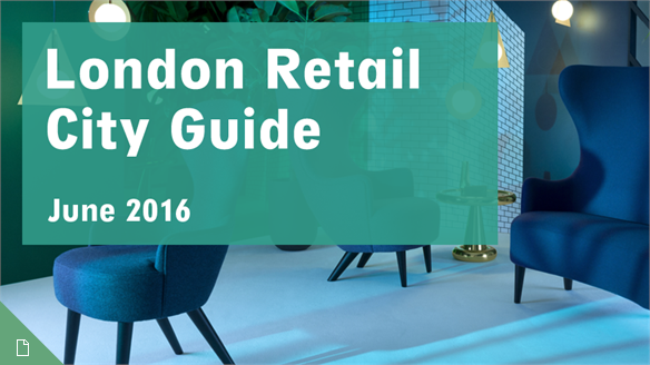 Retail City Guide: London, June 2016