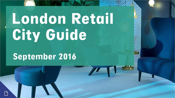 Retail City Guide: London, September 2016