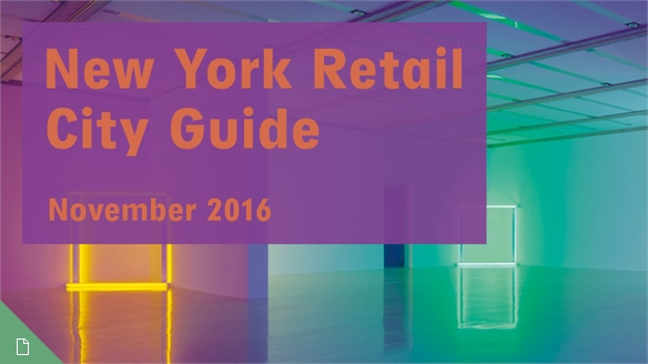 Retail City Guide: NYC, November 2016