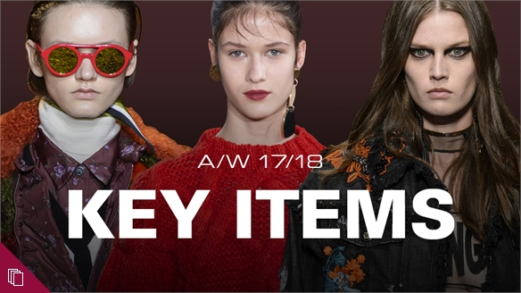 A/W 17/18: Key Items Checklist