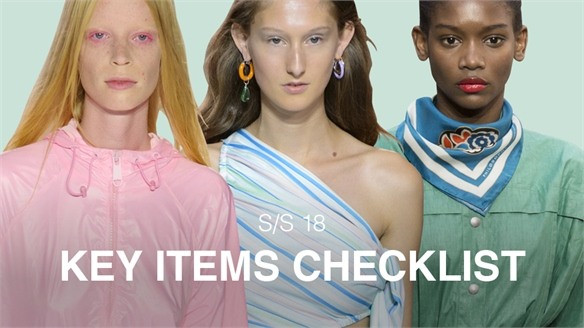 S/S 18: Key Items Checklist