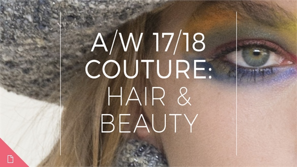 A/W 17/18 Couture: Hair & Beauty