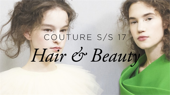 Couture S/S 17: Hair & Beauty