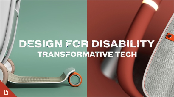Design for Disability – Transformative Tech