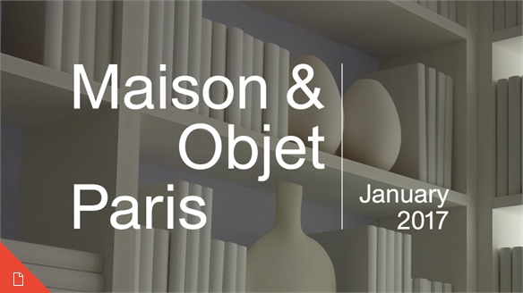 Maison & Objet Paris: January 2017