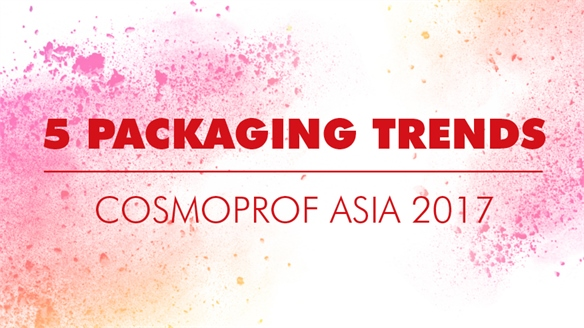 Cosmoprof Asia 2017: Packaging