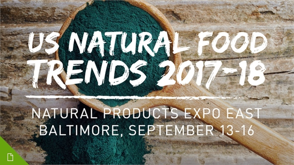 US Natural Food Trends 2017-18