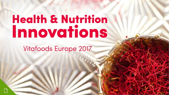 Health & Nutrition Innovations: Vitafoods Europe 2017