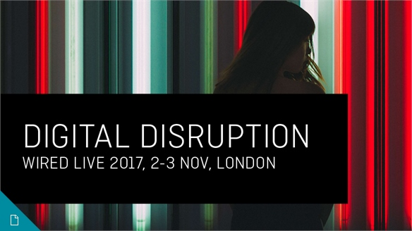Digital Disruption: Wired Live 2017