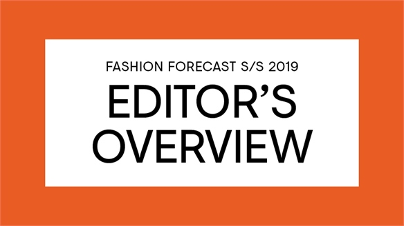 S/S 19: Editor's Overview