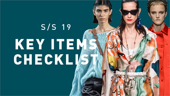 S/S 19: Key Items Checklist