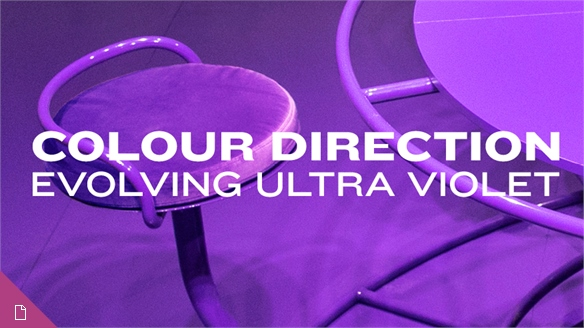 Colour Direction: Evolving Ultra Violet