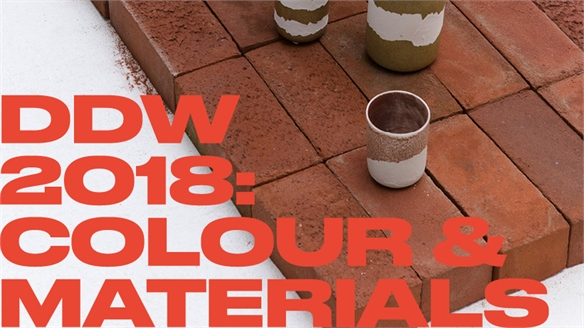 Dutch Design Week 2018: Colour & Materials