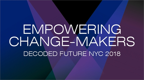Empowering Changemakers: Decoded Future 2018, NYC