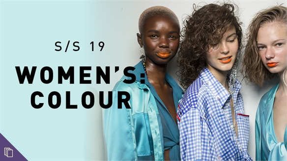 S/S 19 Women's: Colour