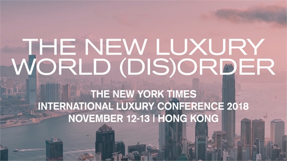 New York Times International Luxury Conference 2018