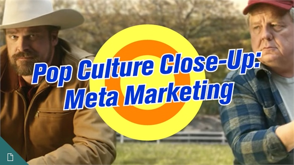 Pop Culture Close-Up: Meta Marketing