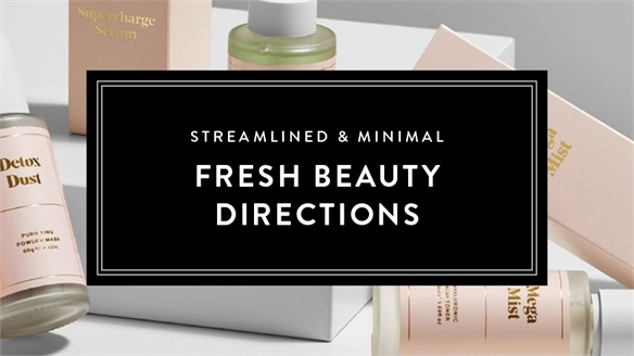Streamlined & Minimal: Fresh Beauty Directions