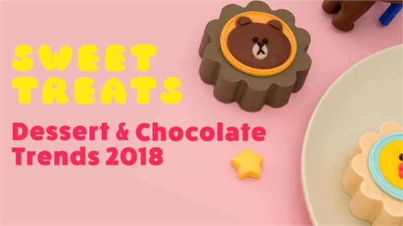 Sweet Treats: Dessert & Chocolate Trends 2018