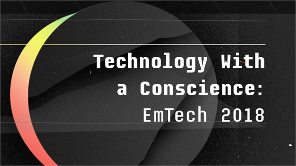 Technology With a Conscience: EmTech 2018