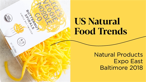 US Natural Food Trends 2018/19: Natural Products Expo East