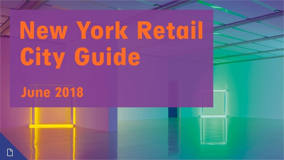 Retail City Guide: NYC, June 2018