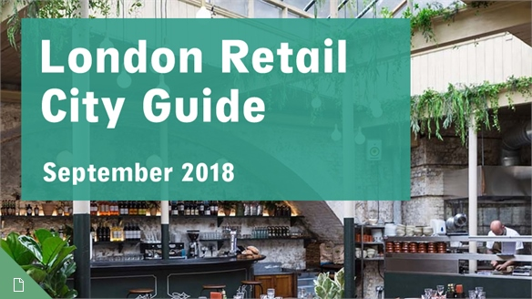 Retail City Guide: London, September 2018