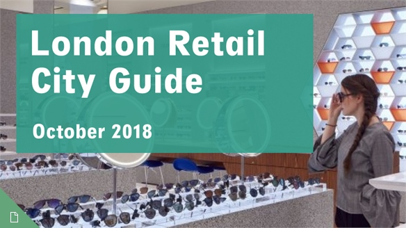 Retail City Guide: London, October 2018