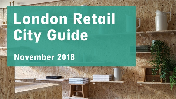 Retail City Guide: London, November 2018
