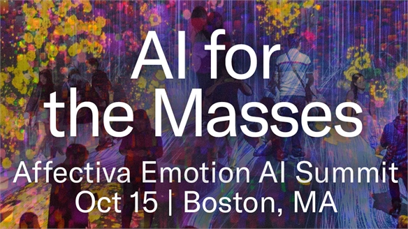 AI for the Masses: Affectiva Emotion AI Summit