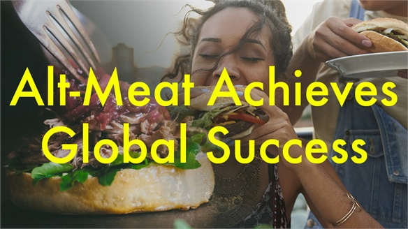 Alt-Meat Achieves Global Success