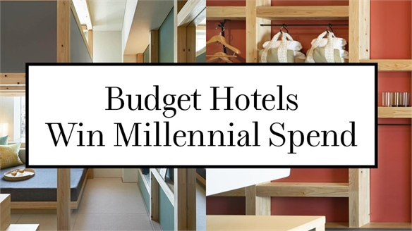 Budget Hotels Win Millennial Spend