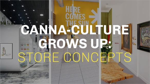 Canna-Culture Grows Up: Store Concepts