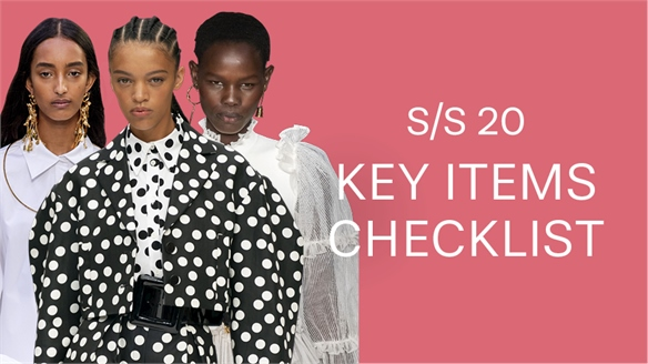 S/S 20: Key Items Checklist