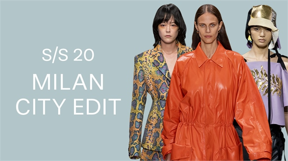 S/S 20: Milan City Edit