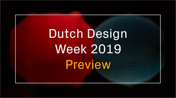 Dutch Design Week 2019: Preview