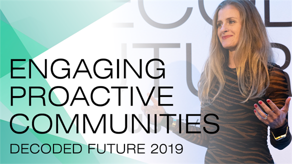 Engaging Proactive Communities: Decoded Future London 2019