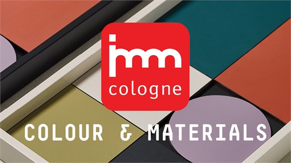 IMM Cologne 2019: Colour & Materials