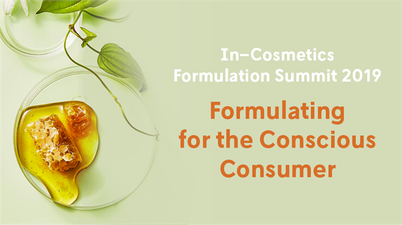 In-Cosmetics Formulation Summit 2019