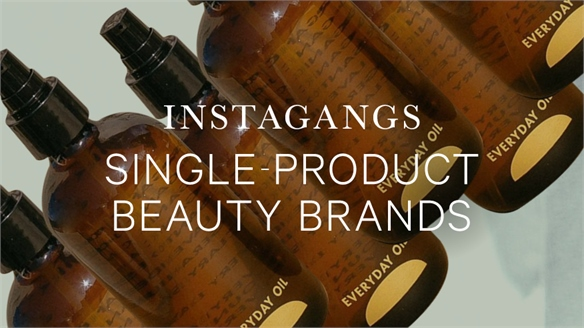 Instagangs: Single-Product Beauty Brands