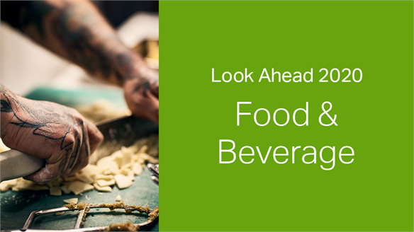 2020: Look Ahead - Food & Beverage