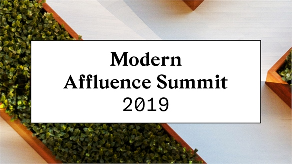 Modern Affluence Summit 2019